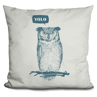 Hersom Yolo Throw Pillow