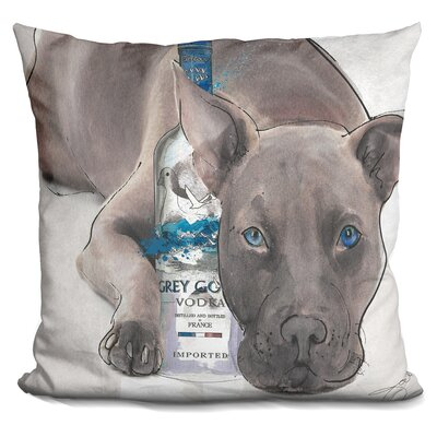 Straight Up Pit Throw Pillow