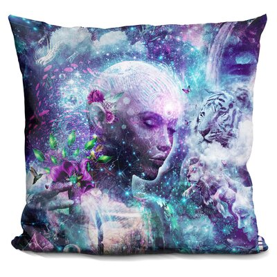 Jhonson Discovering the Cosmic Conscious Throw Pillow
