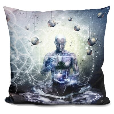 Experience So Lucid Discovery So Clear Throw Pillow
