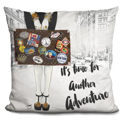 Lucina ItS Time for Another Adventure Throw Pillow