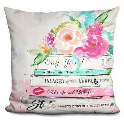 Rufina Light Reading Throw Pillow