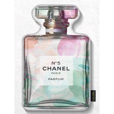 Dunlin Smell the Flowers Perfume Bottle Throw Pillow