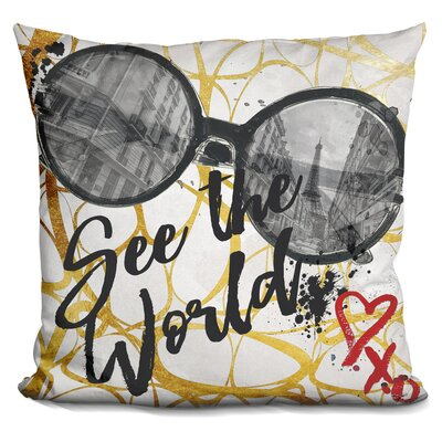 Adelaida See The World Throw Pillow