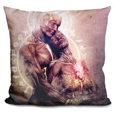 Between the Teardrops Throw Pillow