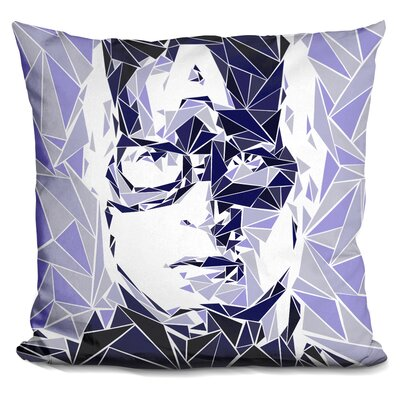 Captain America I Throw Pillow