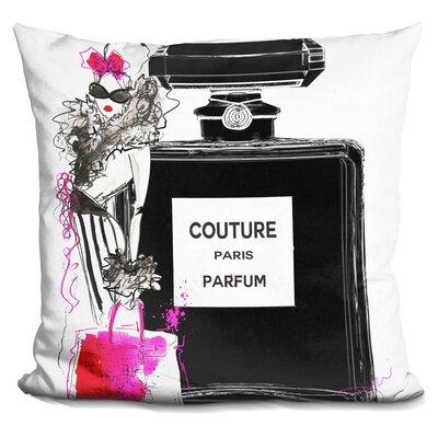 Blessen Couture Perfume Throw Pillow