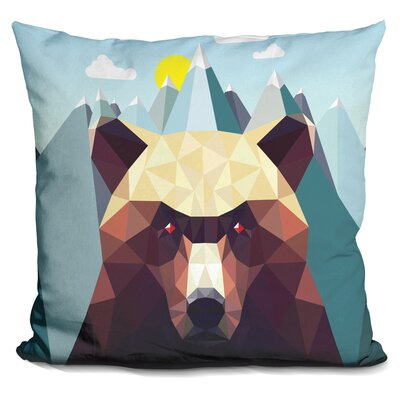 Sinquefield Bear Mountain Throw Pillow