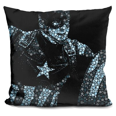 Captain America II Throw Pillow