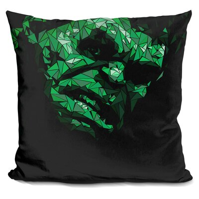 Hulk II Throw Pillow