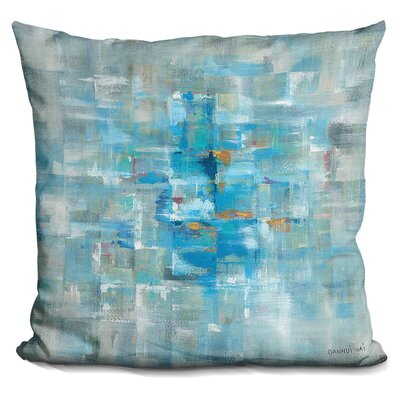 Sipos Abstract Squares Throw Pillow