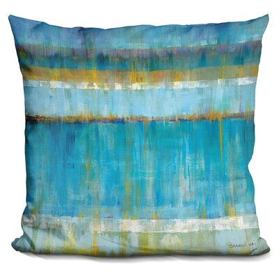 Sipp Abstract Stripes Throw Pillow
