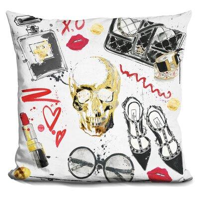 Doline Fashion Victim Throw Pillow