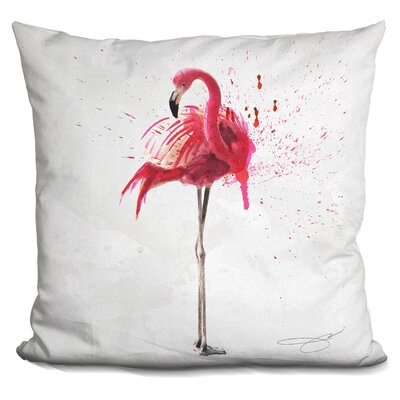 Elosie Flamingo Throw Pillow