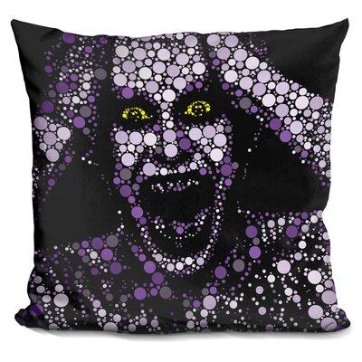 Suicide Joker Throw Pillow