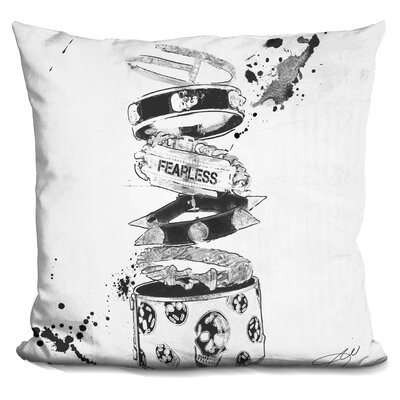 Lester Fearless Throw Pillow