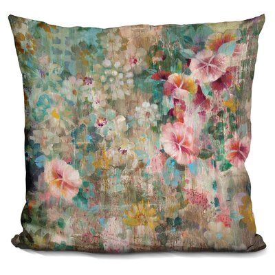 Bankhead Flower Shower Throw Pillow