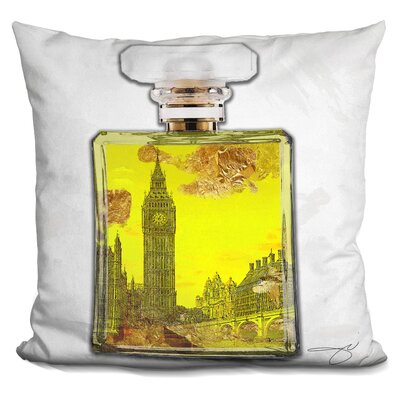 London Scent Throw Pillow