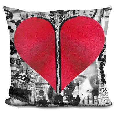 Kaplan Love Hurts Throw Pillow