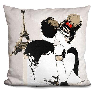 Kappa Paris Throw Pillow