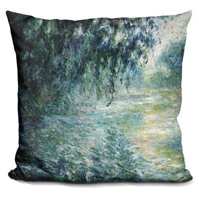 Morning On The Seine Throw Pillow