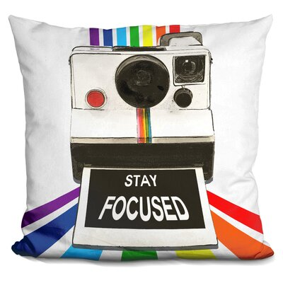 Sisyphus Stay Focused Throw Pillow