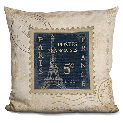 Maroney Iconic Stamps Throw Pillow