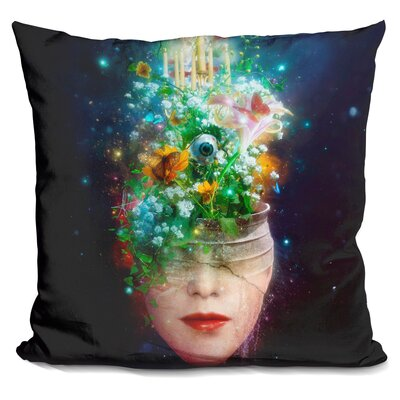 Herbal Movement Throw Pillow