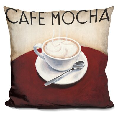 Gerardi Cafe Moderne Throw Pillow
