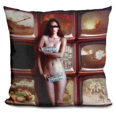 Retransmission Throw Pillow