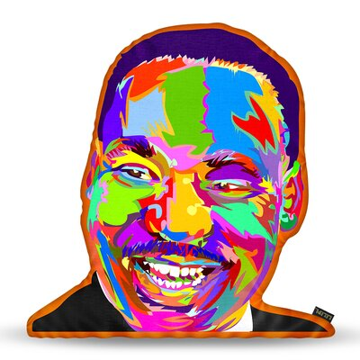 Martin Luther Kingjr Throw Pillow