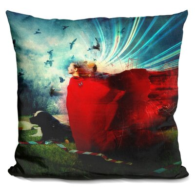 The Strange Blind Throw Pillow