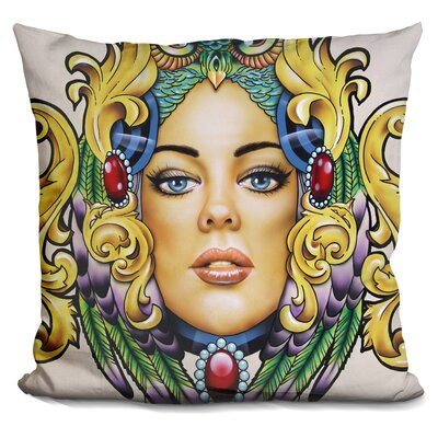 Alone in the World Throw Pillow