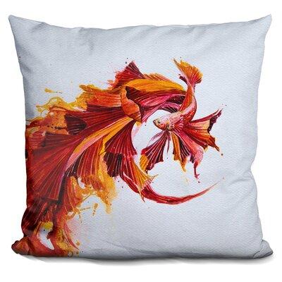 Ignite Print Throw Pillow