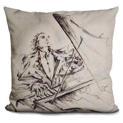 Maestro Throw Pillow