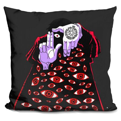 Alucard Releasing Control Throw Pillow