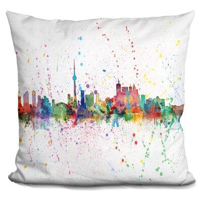 Toronto Canada 1953 Throw Pillow
