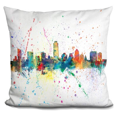 Corl Texas Throw Pillow
