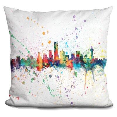 Janda Dallas Texas Throw Pillow