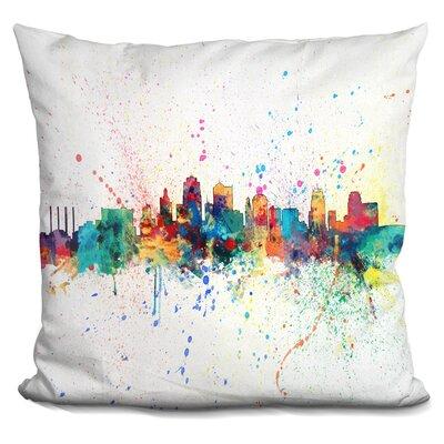 Kansas City 1974 Throw Pillow