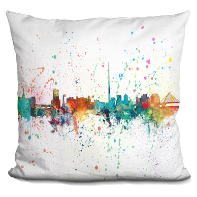 Janik Dublin Ireland Throw Pillow