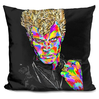 Billyidol Throw Pillow