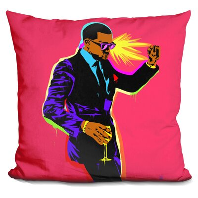 Yayo Dance Throw Pillow Color: Pink
