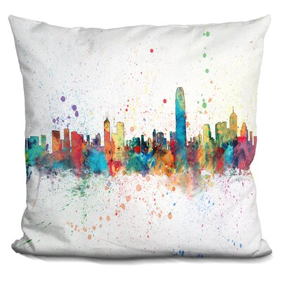 Jaquez Hong Kong Throw Pillow