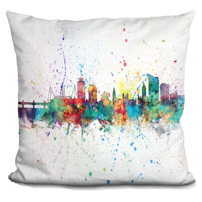 Jarrard Cardiff Wales Throw Pillow