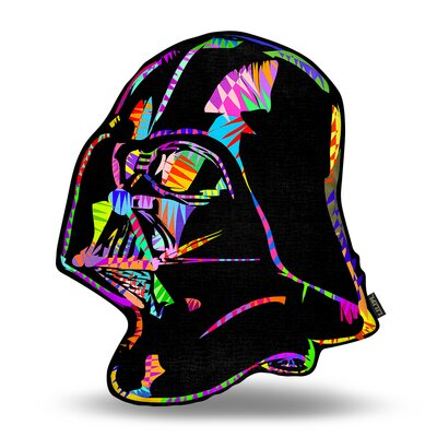 Darth Vader Drome Throw Pillow