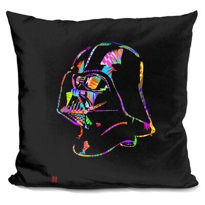 Darth Vader Drome Throw Pillow