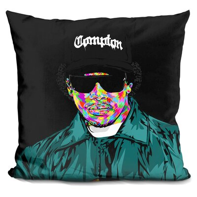 Eazy E Throw Pillow