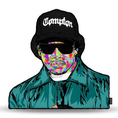 Eazy E Throw Pillow