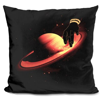 Saturntable Throw Pillow